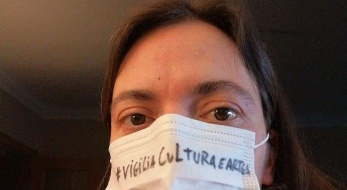 Vigília pela cultura junta profissionais e público nas Caldas da Rainha