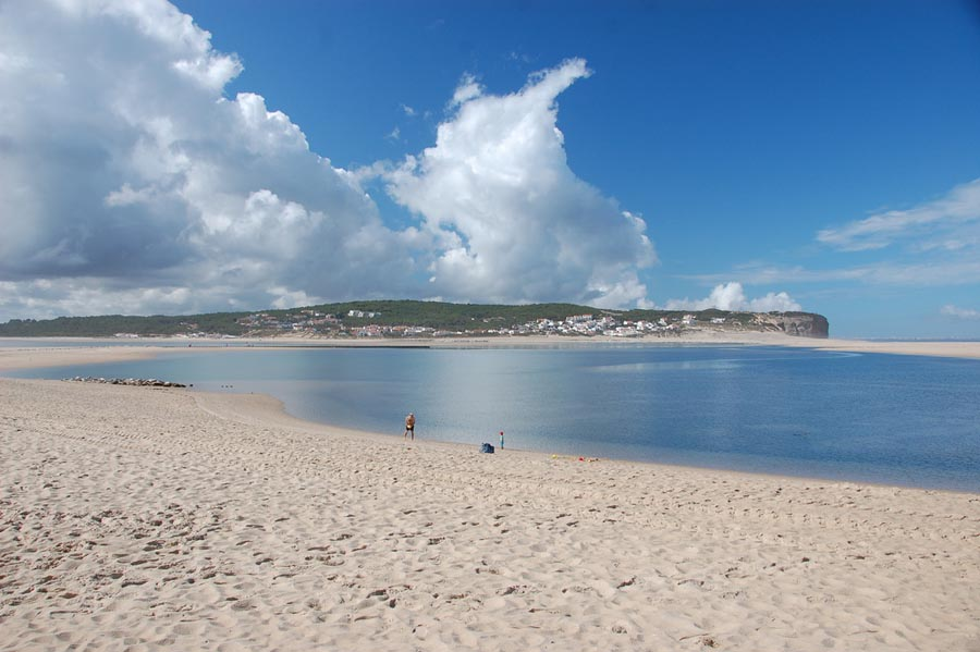 Covid-19: Óbidos considera excessiva lotação de 4.500 banhistas na praia do Bom Sucesso