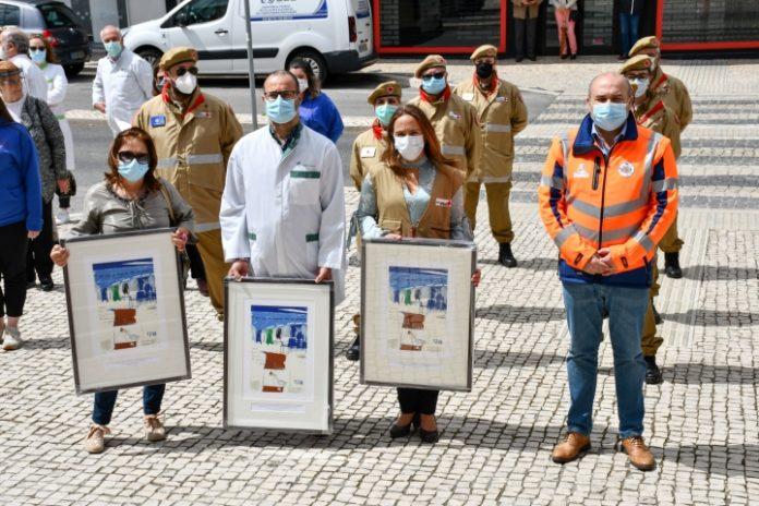 Delegação da Cruz Vermelha e farmácias homenageadas em Torres Vedras