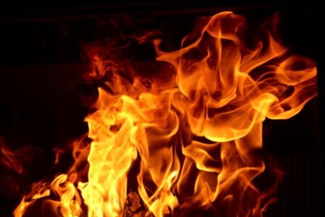Ações de fogo controlado junto à Serra do Socorro, Arneiros e Furadouro