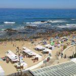 Definida a lotação das 13 praias de Santa Cruz