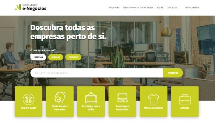 """Novo portal """"Torres Vedras e-Negócios"""" entrou em funcionamento"""
