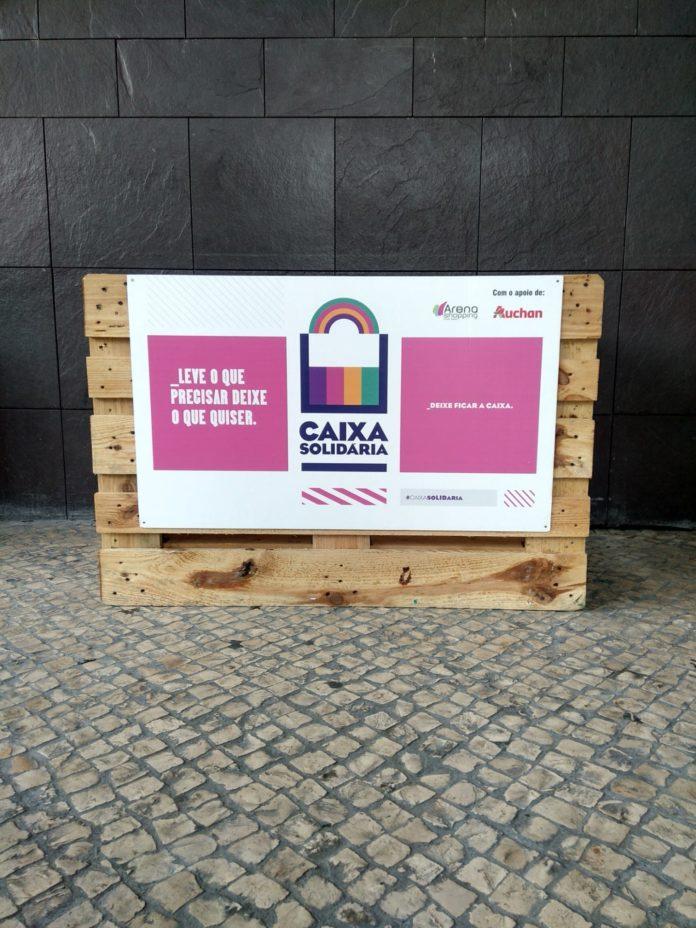 Arena Shopping disponibiliza Caixa Solidária como objetivo apoiar as pessoas da região