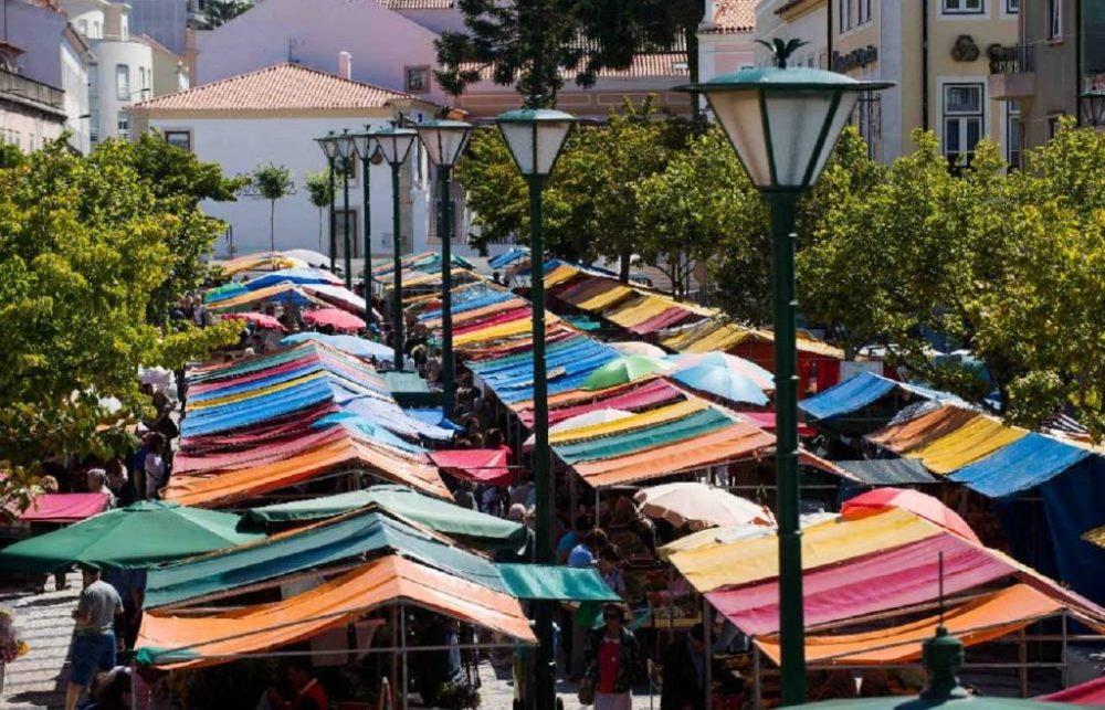 Covid-19: Praça da Fruta deverá voltar ao centro das Caldas da Rainha em julho