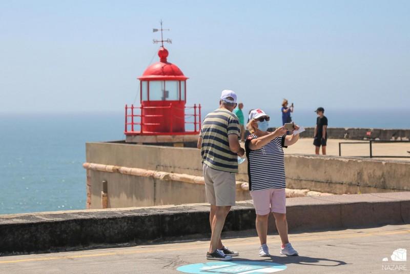 NAZARÉ: Câmara sinaliza melhores locais para 'selfies'