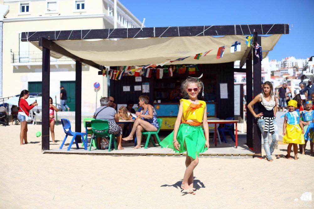 NAZARÉ: Biblioteca de praia aberta até final de agosto