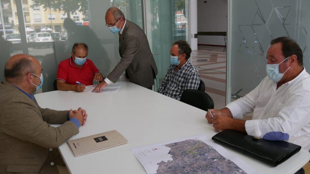 Estabelecida parceria para aproveitamento hidroagrícola de água em Torres Vedras