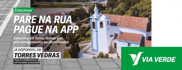 Estacionamento em Torres Vedras já pode ser pago com Via Verde