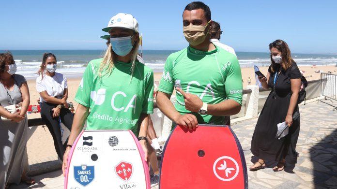 Daniel Fonseca e Joana Schenker vencem prova de bodyboard em Santa Cruz