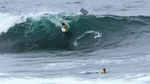 Santa Cruz serve de arranque ao Nacional de Bodyboard