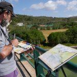 Aguarelistas nacionais captaram a beleza do concelho de Torres Vedras