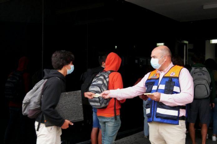 Proteção Civil promoveu ações de sensibilização nas escolas