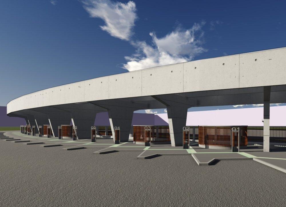 Empreitada para construção da cobertura do Terminal Rodoviário foi adjudicada