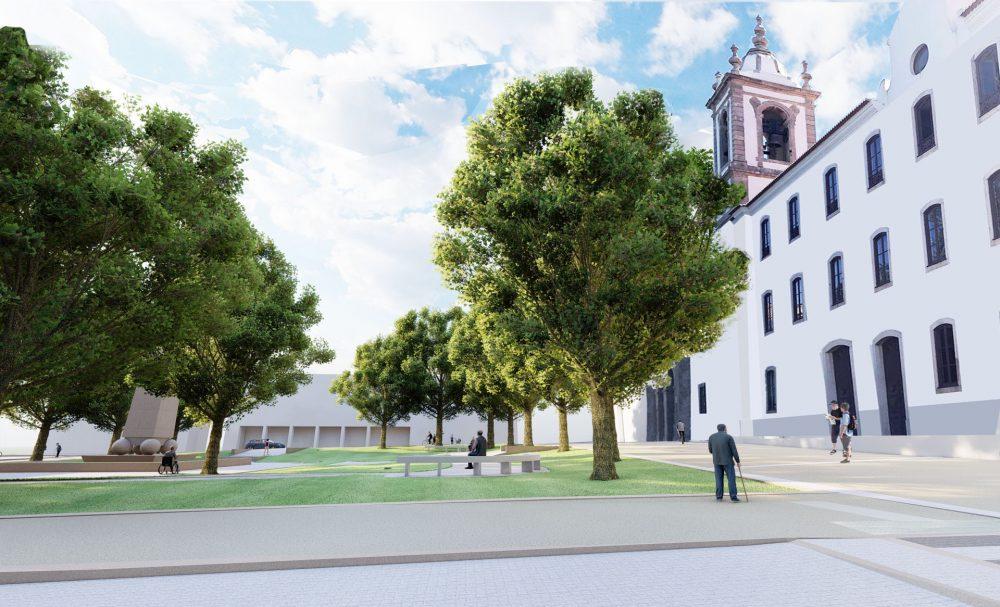 Centro 2020 aprova financiamento para intervenção na Praça 25 de Abril