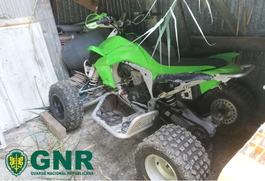 TORRES VEDRAS: GNR recupera moto-quatro furtada