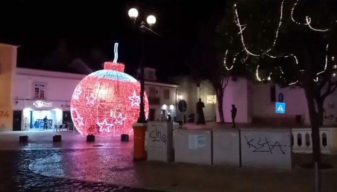 Torres Vedras: Iluminação de Natal foi inaugurada