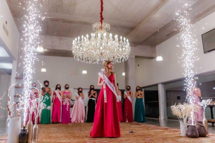 Maria Figueiredo foi eleita Rainha das Vindimas 2020