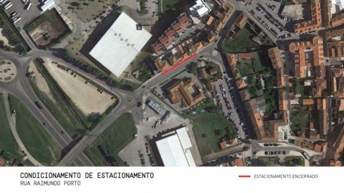 TORRES VEDRAS: Condicionamento de estacionamento na Rua Raimundo Porta