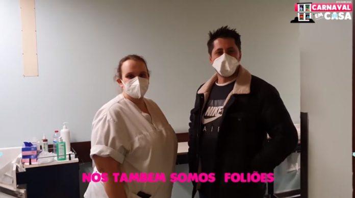 Vídeo: A mensagem dos profissionais de saúde do Hospital de Torres Vedras aos foliões